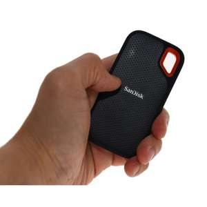 SanDisk Extreme Portable SSD 1 TB Up to 550 MB/s Read £115.49 @ Amazon