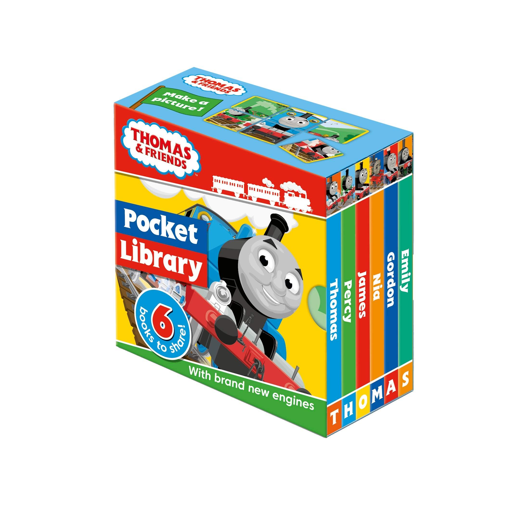 Thomas & Friends: Pocket Library Board book £2.50 (Prime) / £5.49 (non Prime) at Amazon