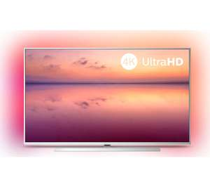 "PHILIPS Ambilight 65PUS6814/12 65"" Smart 4K Ultra HD HDR10+ LED TV (2019) with Alexa, Dolby Visions / Atmos £629 Currys PC World"