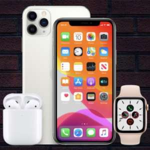 Up to £200 back on Apple Products with 6 months BNPL e.g. Apple Watch series 3 £169 after credit / iPhone 11 from £609 after credit @ Very