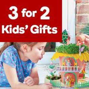 3 for 2 on over 300 kids creative kits at Hobby Craft