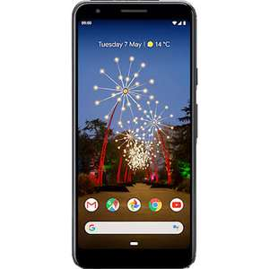 Google Pixel 3a no upfront cost | 20GB data | Unlimited mins & texts Vodafone £29pm with £70 cashback mobiles.co.uk