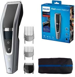 Philips Series 5000 Trim-n-Flow PRO Technology Hair Clipper, Fully Washable, Silver/Black, HC5630/13 £27.50 Amazon
