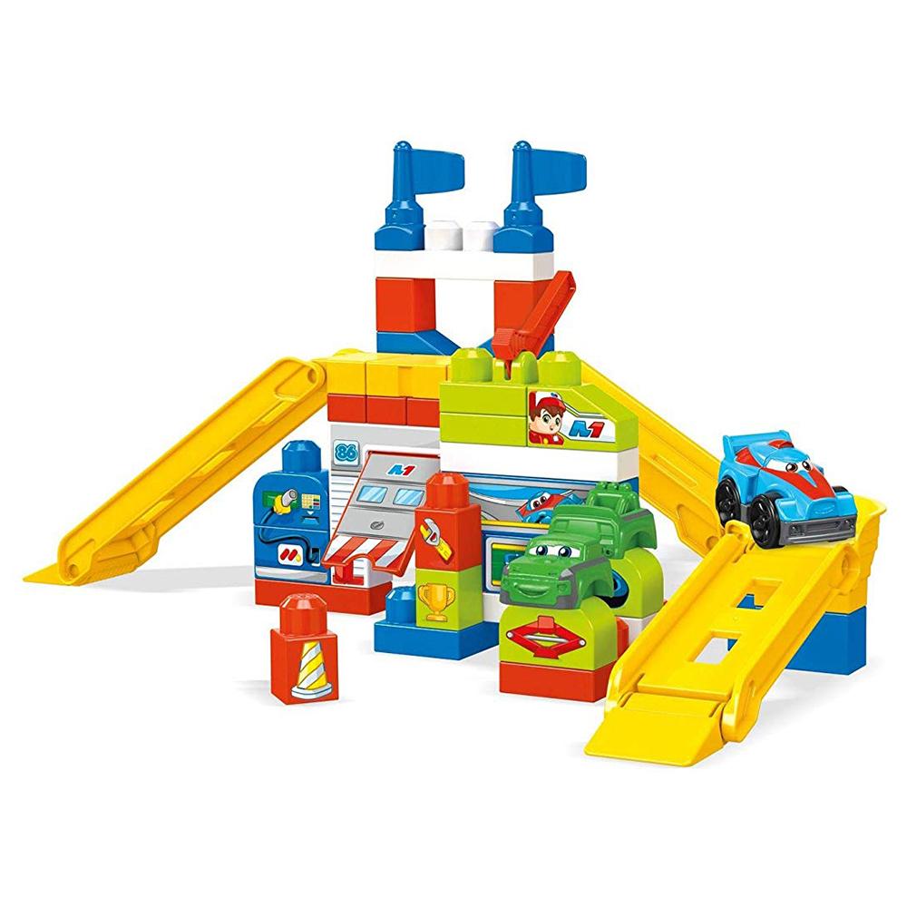 Mega Bloks Race Car Garage (60 pieces) Set £14.99 @ Home Bargains (Online & In store tonbridge)