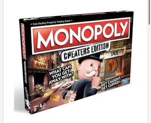 Discounts on selected board games e.g. Monopoly Cheater's Edition - £15.99 + free Click and Collect @ Smyths Toys