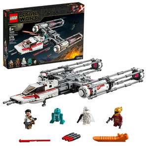 LEGO 75249 Star Wars Resistance Y-Wing Starfighter £48 Using code @ Argos