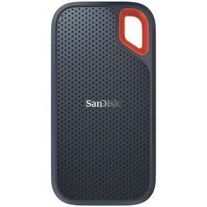 SanDisk Extreme Portable SSD 2 TB Up to 550 MB/s Read £220 @ Amazon