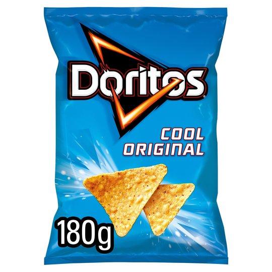 Doritos Cool Original , Doritos Chilli Heatwave, Doritos Tangy Cheese Tortilla Chips - £1 @ Tesco