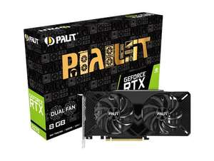 Palit GeForce RTX 2070 Dual 8GB with free shipping from CCL - £372.60 @ CCL