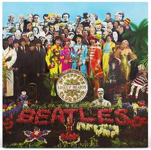 The Beatles – Sgt. Pepper's Lonely Hearts Club Band LP 180g Vinyl, @ 365games
