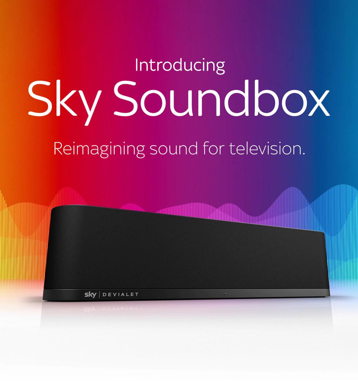Black Friday: Sky Soundbox now £189 @ Sky (customers)