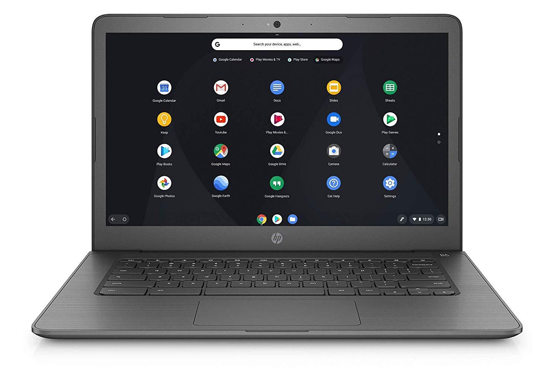 HP Chromebook 14-db0003na 14 Inch Laptop - (Grey) (AMD Dual Core A4, 4 GB RAM, 32 GB eMMC £169.68 at Amazon