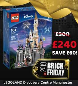 £10.00 off every £50.00 spent in store @ Legoland discovery center Manchester