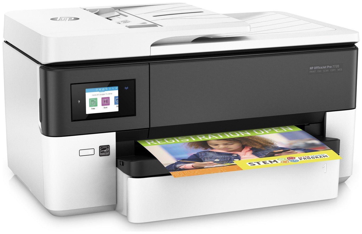 HP OfficeJet Pro 7720 - A3 Wireless Inkjet Printer £79.99 @ Argos (+£20 cashback from HP)