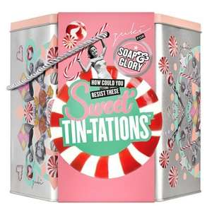 Soap & Glory Sweet Tin-Tations Gift Set (was £60) Now £30 click and collect @ Boots