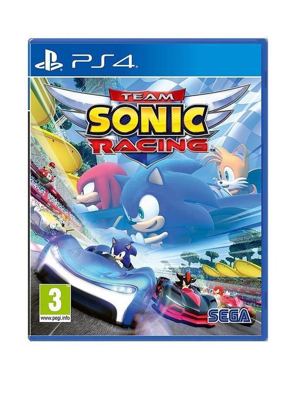 Team Sonic racing PS4 (Ex Rental) £15.85 @ Boomerangrentals.co.uk