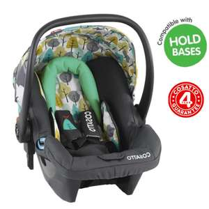 Cosatto Hold Giggle Group 0+ Baby Car Seat - Firebird £29.95 at Online4Baby