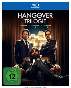 Hangover Trilogy Blu Ray - £7 @ Asda in store and online - Found Cardiff