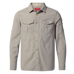 50% off full priced items at Craghoppers - NosiLife II Shirt £32.50 + £3.95 P&P