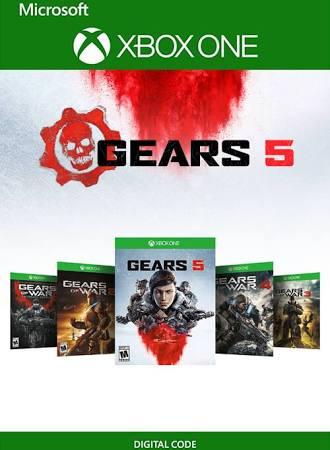[Xbox One] Gears 1 - 5 Bundle - £19.99 @ CDKeys