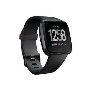 Fitbit Versa Health & Fitness Smartwatch with Heart Rate, Music & Swim Tracking £129.85 at Amazon