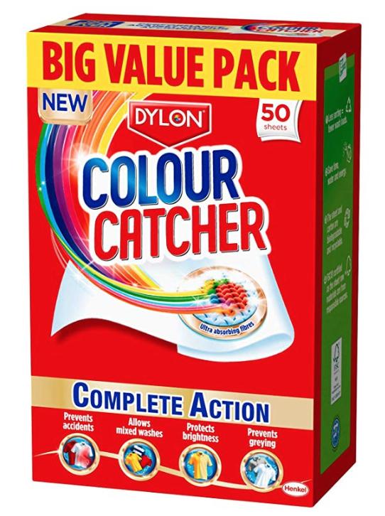 Dylon colour catcher 50 sheets £3 / £2.85 via Subscribe and Save - Minimum order 3 (£9 / £8.85) @ Amazon (+£4.49 Non-prime)