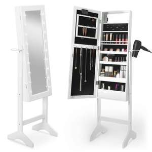 White LED cosmetic,Jewellery Armoire £44.99 @ Beauify + Free Delivery