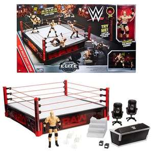 WWE Elite Raw Ring Playset £54.98 delivered - Studio