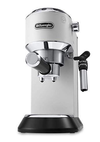 De'Longhi EC685.W Dedica Style Pump Espresso, Metal, 1.45 W, 1 Liter, White £139.99 @ Amazon