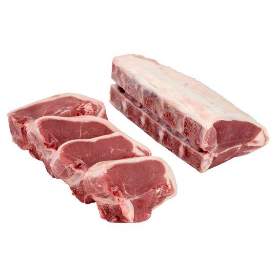 Lamb Loin Chops £8.04 per kilo @ Tesco