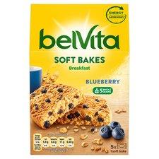 Belvita Breakfast Soft Bakes Blueberry 250G £1.39 at Tesco