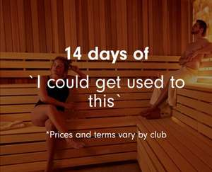 14 day membership trial at selected David Lloyd's leisure clubs for £14