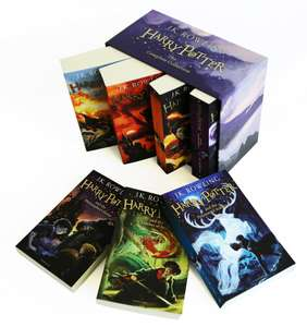 The Complete Harry Potter Collection - 7 Books £22.98 delivered with code (plus free Match Annual 2020) @ The Book People