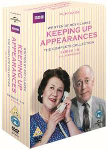 Keeping Up Appearances: The Complete Collection Series 1-5 (Box Set) [DVD] - £7.55 Delivered (£6.80 with code) @ Zoom