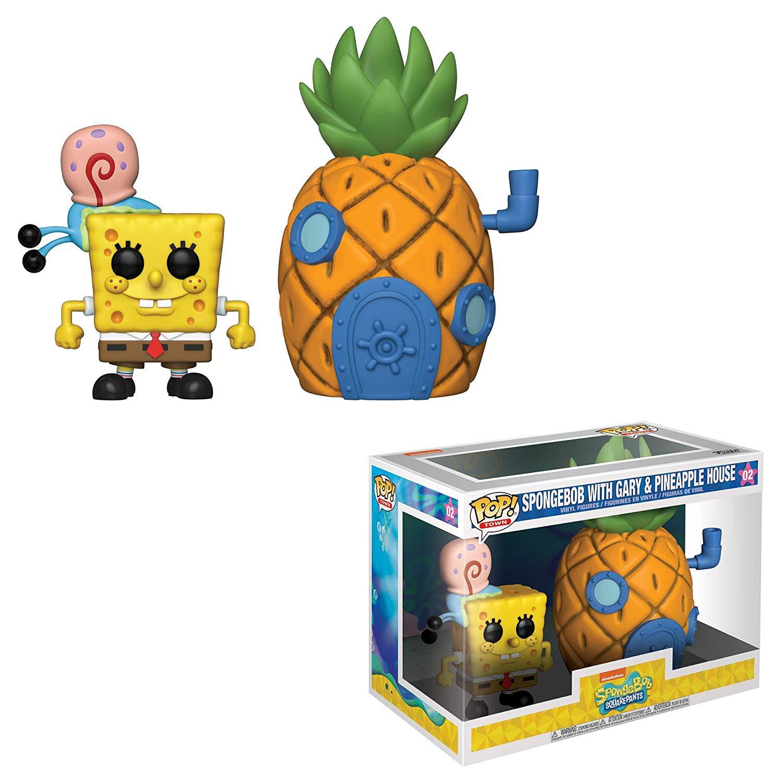 Funko Pop Vinyl Town: Spongebob with Garry & Pineapple House £12.99 (+£4.49 delivery for Non Prime) @ Amazon