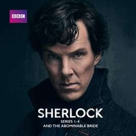Sherlock, Series 1 - 4 & The Abominable Bride £12.99 @ iTunes Store