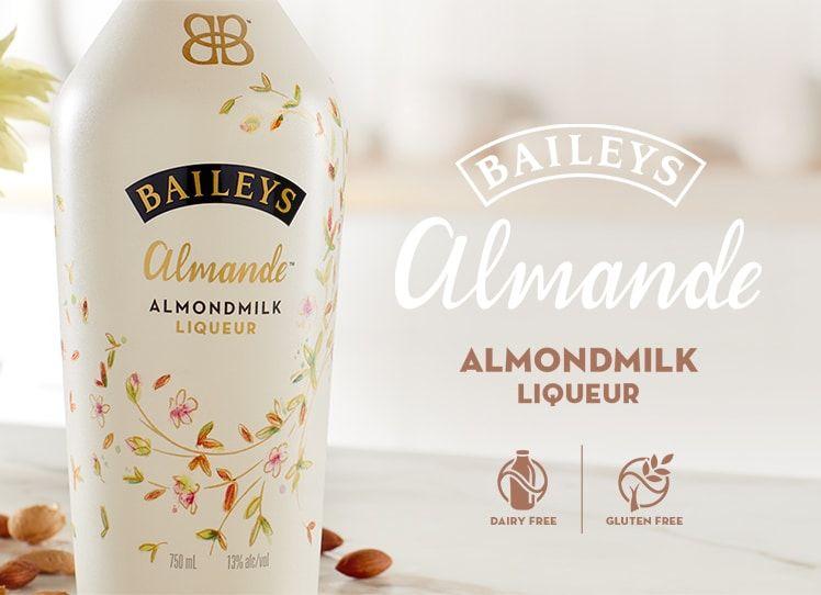 Baileys Almande is dairy-free, gluten-free and vegan-friendly £16 at Waitrose & Partners
