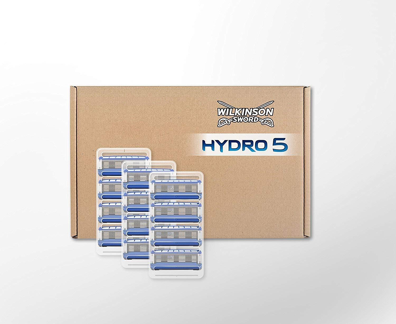 12 Hydro (inc Sensitive) 5 Blades for £14.29 @ Wilkinson Sword