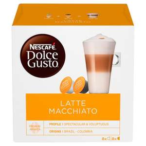 Dolce Gusto 16 Capsules - Various Flavours £3 @ B&M (Corby)