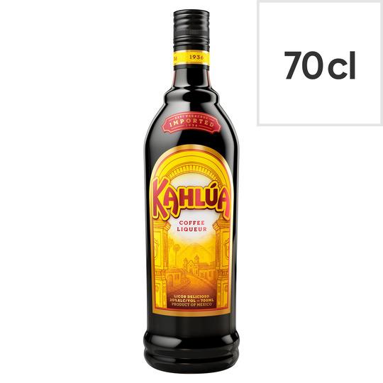 Kahlúa coffee liquer 70cl 20% ABV £11 @ Tesco (instore & online)