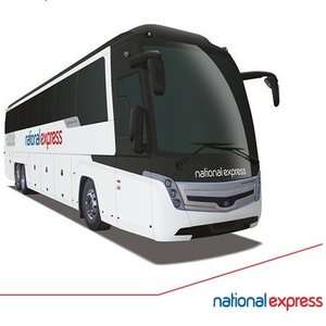 National Express Coach Travel for £5 with Wuntu