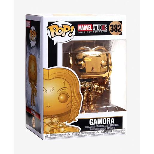 Funko Pop! Marvel: Marvel Studios 10 Years - Chrome Gamora Bobble-Head - £7.50 @ The Entertainer (+£3.99 Postage - of Free Del £10+ Orders)
