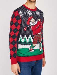 Santa Golf Christmas Jumper (XS) £5.00 + £3.95 delivery @ Everything5pounds