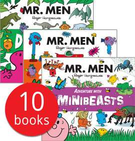 Mr Men Adventures Collection 10 books £5.99 +£2.95 delivery @ Book People