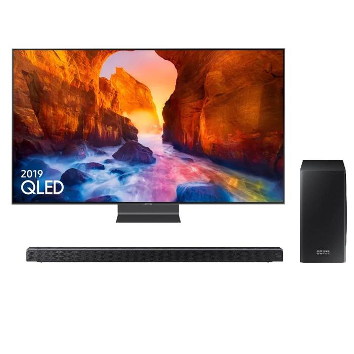 Samsung 55Q90R 55 inch 4K Ultra HDR 2000 Smart QLED TV with Apple TV app & Cinematic Soundbar £1449 With Code @ Richer Sounds