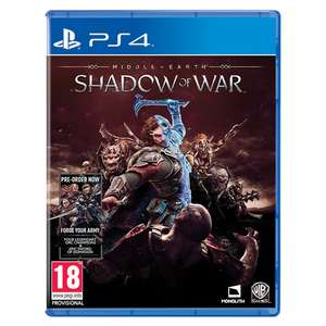 Middle-earth: Shadow of War (PS4/Xbox One) £6.99 Delivered @ Monster-Shop