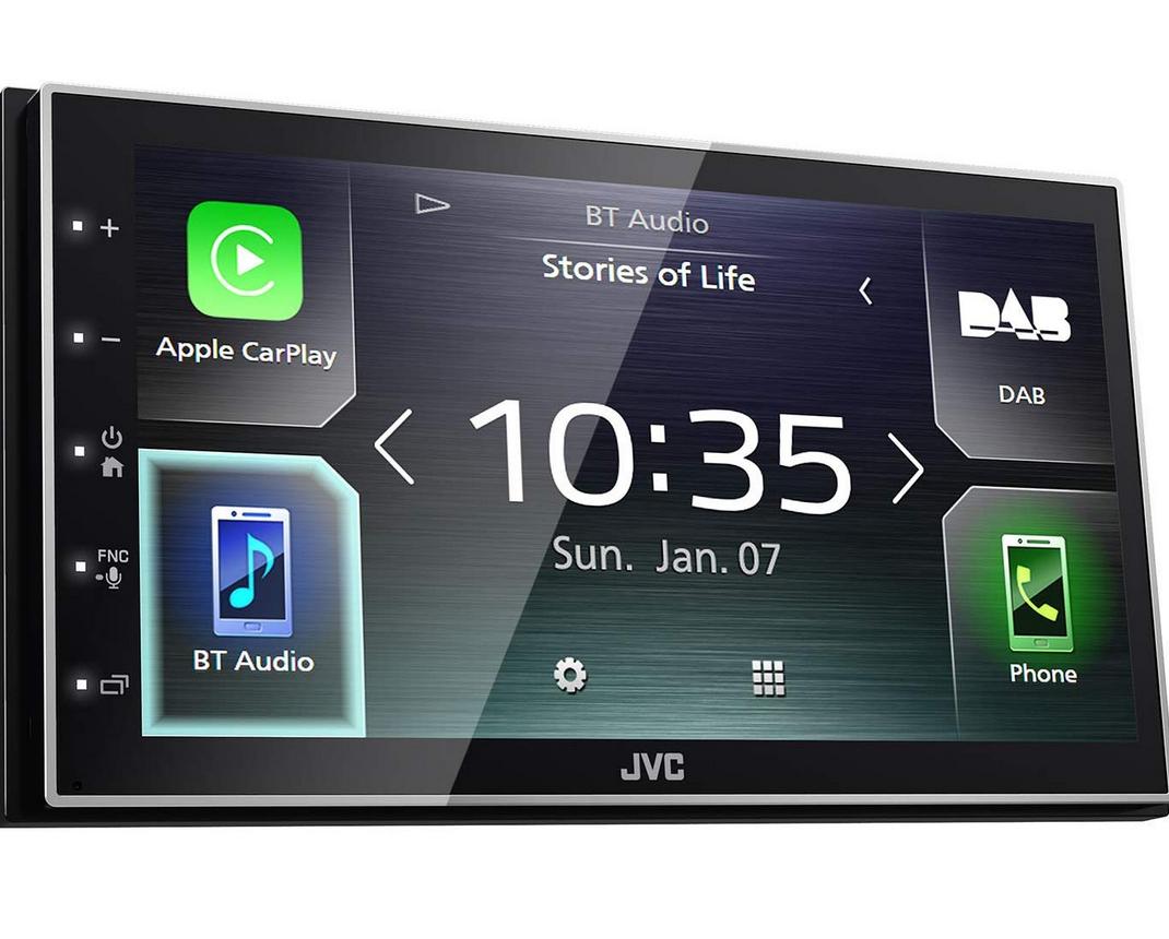 JVC KW-M745DBT Double DIN car STEREO £320.03 @ Amazon