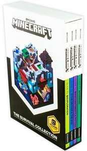 Minecraft The Survival Collection 4 Book Set £6.50 @ Books2Door (£2.49 P&P)