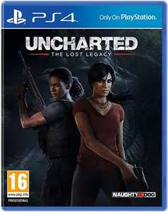 Uncharted: Lost Legacy PS4 - £10 @ CeX