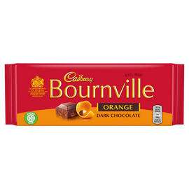 Cadbury Bournville Dark Chocolate Orange 100g - £1 @ Iceland
